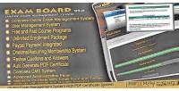 Board exam online system management exam