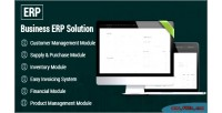 Business erp solution product management company shop business