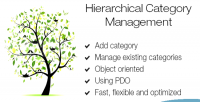 Category hierarchical management