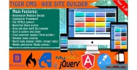 Cms tiger website builder