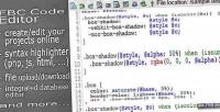 Code fbc editor