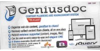 Content geniusdoc planning system management and