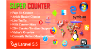Counter super laravel & page counter hit article
