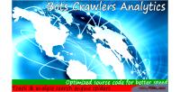 Crawlers bots analytics
