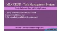 Crud mlx system management task