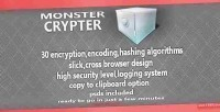 Crypter monster script encoding crypting