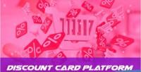 Discount discountcard platform selling card