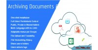 Documents archiving share edition entreprise center
