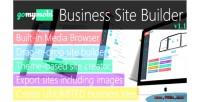 Drag n drop business lite builder site drag