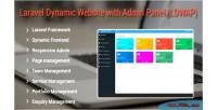 Dynamic website with admin ldwap panel dynamic