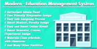 Education modern management system