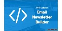 Email bal newsletter version php builder