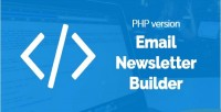 Email bal newsletter version php builder