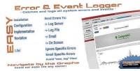 Event error logger