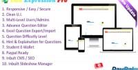 Expression edu online pro system examination