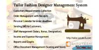 Fashion tailor system management designer