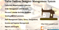 Fashion tailor system management designer