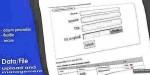 File data management & upload
