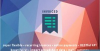 Flexible invoiced invoicing api with application
