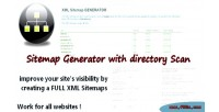 Generator sitemap scan directory with