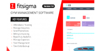 Gym fitsigma management software