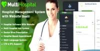 Hospital multi best hospital system management app sass