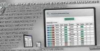 Hostings domains manager remainder