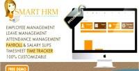 Hrm smart payroll timesheet attendance