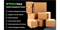 Inventory wholesale control system & management inventory