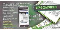 Invoice pro maker