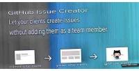 Issue github creator
