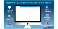 Laravel hezecom project maker admin and