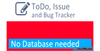 List todo issue tracker bug and