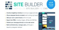 Lite drag drop site cms & builder lite