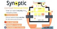 Live visual webdesign editor php ajax live
