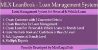 Loanbook mlx system managment loan