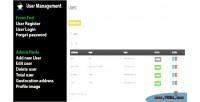 Login user register mangement user and