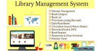 Management library lms system