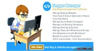 Manager blogger