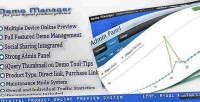 Manager demo online system preview product