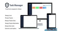 Manager ptask project system s management task