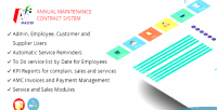 Master amc annual system maintenance management contract