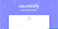Minify css