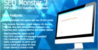 Monster seo 2 framework reporting seo