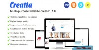 Multipurpose creatta website creator