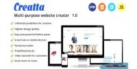 Multipurpose creatta website creator