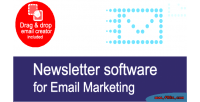Newsletter easy software marketing email for