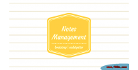 Notes personal management system