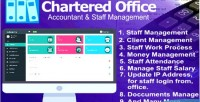 Office chartered management staff accountant