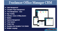 Office freelancer manager crm